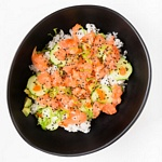 poke salmone spicy